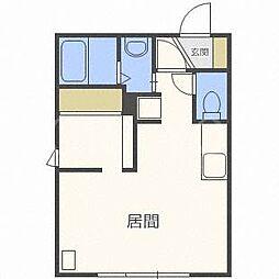 メープルコート24[2階]の間取り