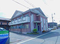 福岡県北九州市小倉南区田原新町2丁目の賃貸アパートの外観