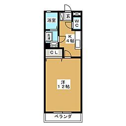 ライトピュア[2階]の間取り
