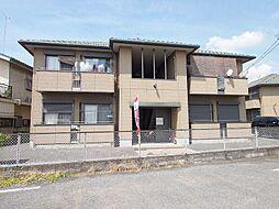 埼玉県川越市旭町3丁目の賃貸アパートの外観