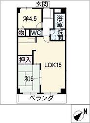 NODA GULANDE[1階]の間取り