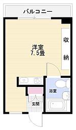 メゾン富士見[302号室]の間取り