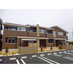 愛知県北名古屋市熊之庄六の坪の賃貸アパートの外観