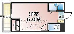 新大阪OMパレス[2階]の間取り