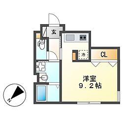 WELL COURT KANDA[3階]の間取り