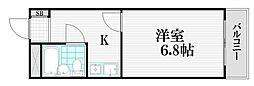 東京都練馬区谷原5丁目の賃貸マンションの間取り