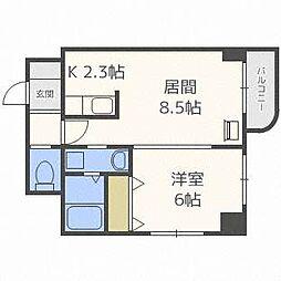 N35FUJIIMS[10階]の間取り