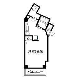 オリーブハウス[101号室]の間取り