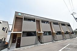 徳島県徳島市川内町沖島の賃貸アパートの外観