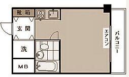 神奈川本町ダイアモンドマンション[4階]の間取り