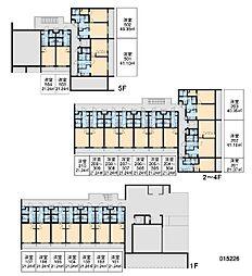RX中野坂上[2階]の間取り