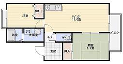 サラマンカ[2階]の間取り