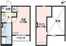 ブロッサムサカイ[2階]の間取り