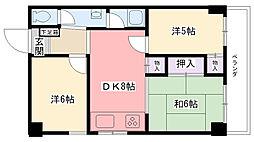 フォルテ山栄[4階]の間取り