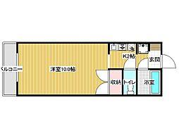 福寿マンション[3階]の間取り