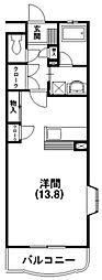 静岡県浜松市西区志都呂2丁目の賃貸マンションの間取り