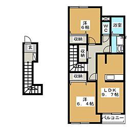 Dimoa[2階]の間取り