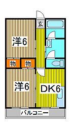 吉川ビル[3階]の間取り