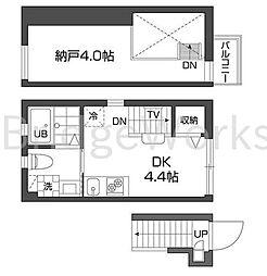 グランアセット西新宿[2階]の間取り