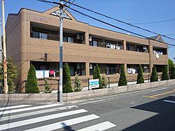 埼玉県深谷市上野台の賃貸アパートの外観