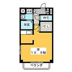 ウィステリアワカヤマ3(Wisteria Wakayama[2階]の間取り