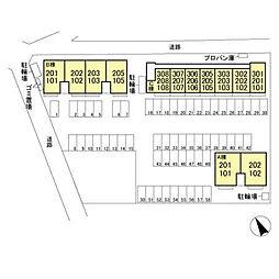 (仮)福居町プロジェクト C[1階]の外観