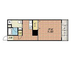 グランヴァレー彩都[7階]の間取り