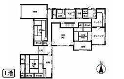宮島/中古住宅(土地付き) 7DKの間取り