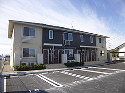 宮城県名取市上余田字千刈田の賃貸アパートの外観