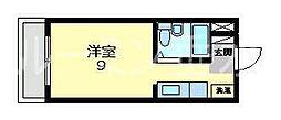 レジデンス清水ヶ丘[2階]の間取り