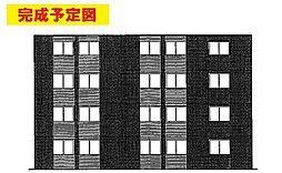 東京都八王子市小比企町の賃貸マンションの外観