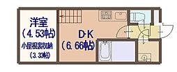 AVERE 京阪本通[603号室]の間取り