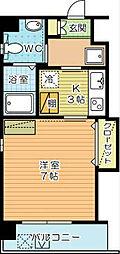 古船場タカヤコーポレーションビル[803号室]の間取り