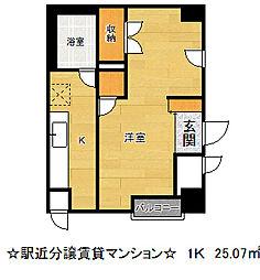 グランドプラザ神戸[5階]の間取り