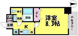 アドバンス大阪城エストレージャ[7階]の間取り