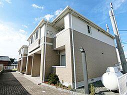 静岡県富士市田子の賃貸アパートの外観