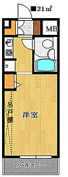 鎌ヶ谷ハイツ[2階]の間取り