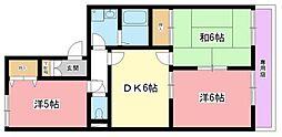 ヴァンベール A棟[2階]の間取り