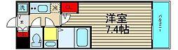 エグゼ難波南V[6階]の間取り