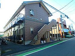 埼玉県北本市東間1丁目の賃貸アパートの外観