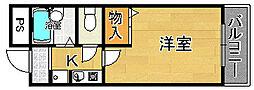笠神マンションⅠ[4階]の間取り
