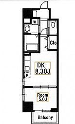 新築 スカイハウスグランデ[3階]の間取り
