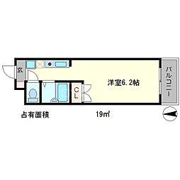 ソレイユ岩倉駅前I[1階]の間取り