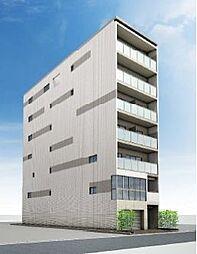 エリタージュ新町(仮称 中京区神明町マンション)[6階]の外観
