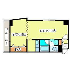 R4TMビル[5階]の間取り