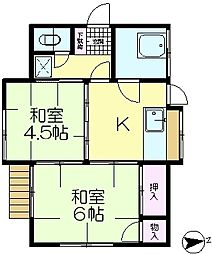 [一戸建] 千葉県佐倉市石川 の賃貸【/】の間取り