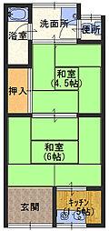 和田文化[1階]の間取り