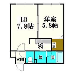 ひばりが丘駅 4.3万円