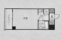 ヒルトップ横浜[504号室]の間取り