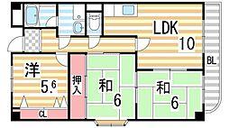 コンフォートステージ2[1階]の間取り